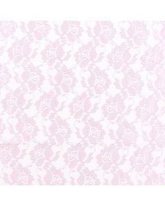 Encaje Paris Liso Rosa Medio