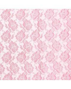 Encaje Paris Liso Rosa Coral