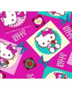 Acolchado Disney Kitty Cuadros Rosa Pastel
