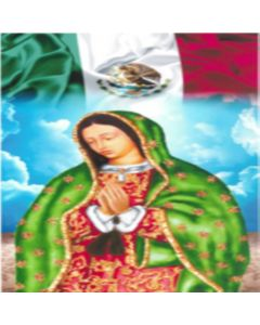 Fieltro Virgen Bandera Estampado