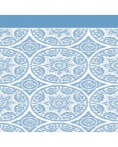 Franela Sabana 2.50 Circulo Azul Cielo