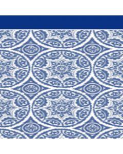 Franela Sabana 2.50 Circulo Azul Marino