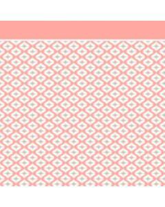 Franela Sabana 2.50 Geométrico Rosa Coral