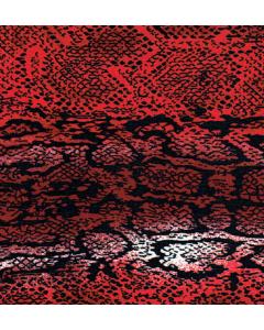 Lickra Pieles Vibora Rojo