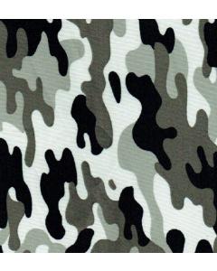 Lickra Pieles Camuflaje Verde Militar