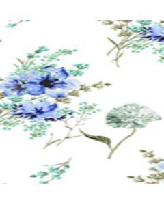 Lickra Brush Flor Mediana Azul Cielo