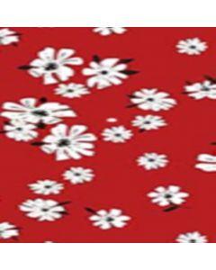 Lickra Brush Flor Grande Rojo