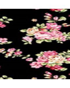 Lickra Brush Flor Mediana Negro