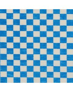 Mantel Domino Algodon Liso Azul Turquesa