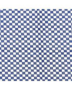 Mantel Domino Algodon Liso Azul Rey