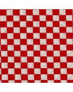 Mantel Domino Algodon Liso Rojo