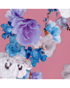 Razo Digital Flor Grande Rosa Medio