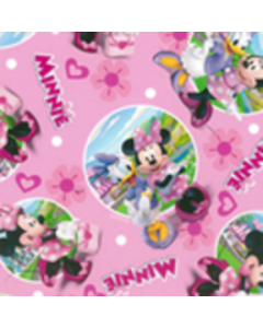 Acolchado Disney Mimi Rosa Pastel