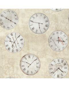 Plastico Fiestamesa Relojes Hueso