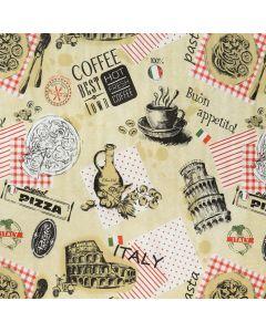Plastico Fiestamesa Pasta Café Arena