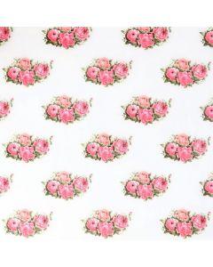 Plastico Cristamesa Bouquet Hueso