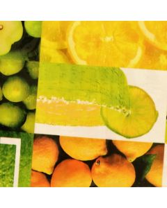 Plastico Cristamesa Citricos Verde Limon