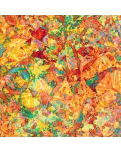 Rayon Viscosa Semiliso Naranja