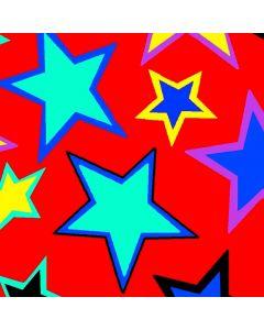 Razo Satin Carnaval Estrella Rojo