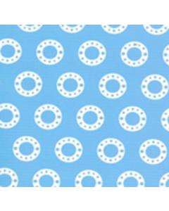Royal Estampada 1.10 Circulo Azul Cielo