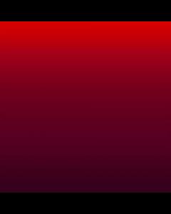 Shiffon Pegasus Degradado Cenefa Sencilla Rojo