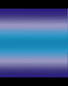 Shiffon Pegasus Degradado Cenefa Doble Azul Turquesa