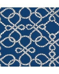 Smock Extra Grande 1.40 m Cuerdas Azul Rey