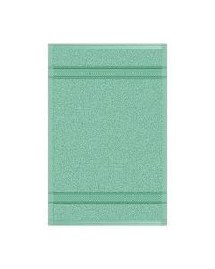 Toalla para Manos Modelo Bali Color Verde Menta Set con 12 pzs