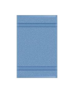 Toalla para Manos Modelo Bali Color Azul Pizarra Set con 12 pzs