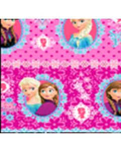 Acolchado Disney Frozen Guia Rosa Fiusha