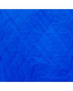 Acolchado Zara Liso Azul Rey
