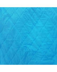 Acolchado Zara Liso Azul Turquesa