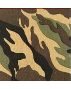 Gabardina Camuflaje Clasico Verde Militar
