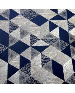 Decoracion Benetti Geometrico Azul Marino