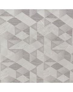 Decoracion Benetti Geometrico Gris Plata