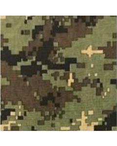 Gabardina Camuflaje Pixel Verde Militar