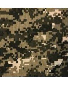 Gabardina Camuflaje Pixel Verde Olivo