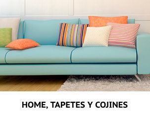 Home, Tapetes y Cojines