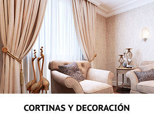 Cortinas y Decoración